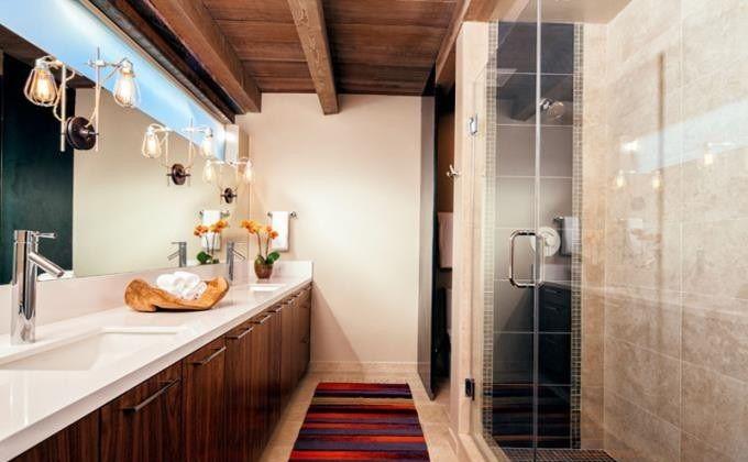 Cách trang trí phòng tắm đẹp mắt