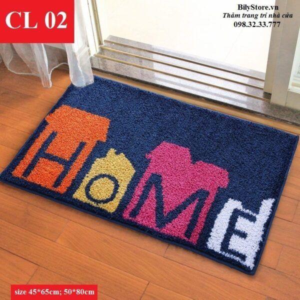 Thảm cửa ra vào CL02