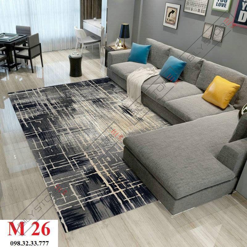 Thảm phòng khách M26