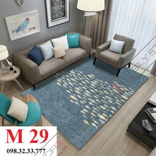 Thảm phòng khách M29