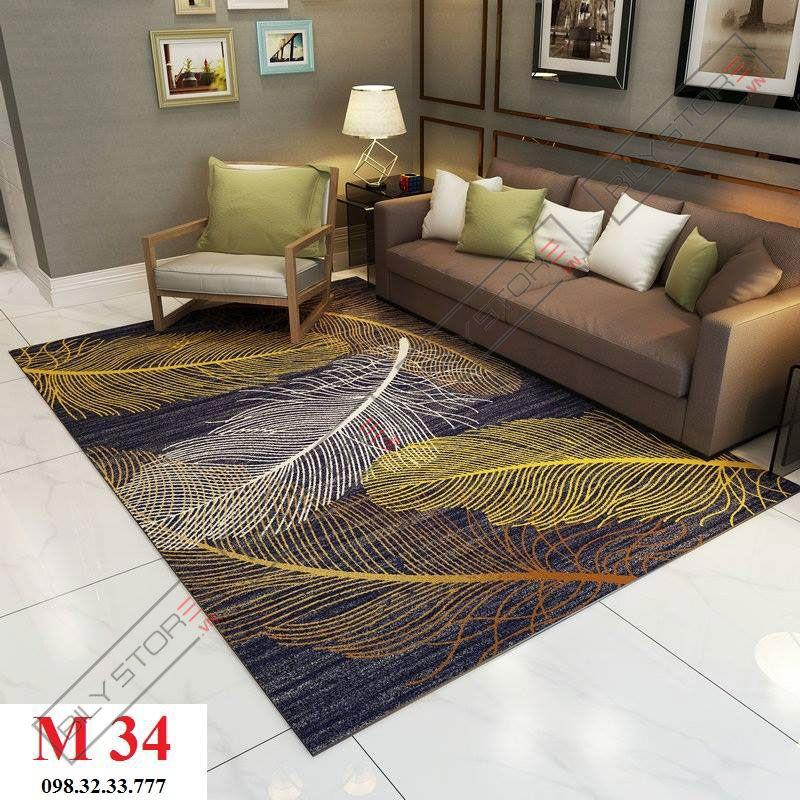 Thảm phòng khách M34