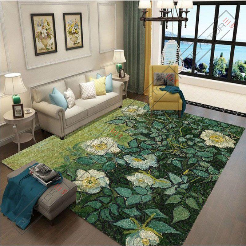 Thảm trang trí phòng khách nhiều kích thước phù hợp với diện tích phòng khách nhà bạn
