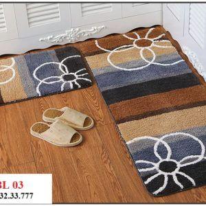 Thảm bếp sợi len mềm BL03