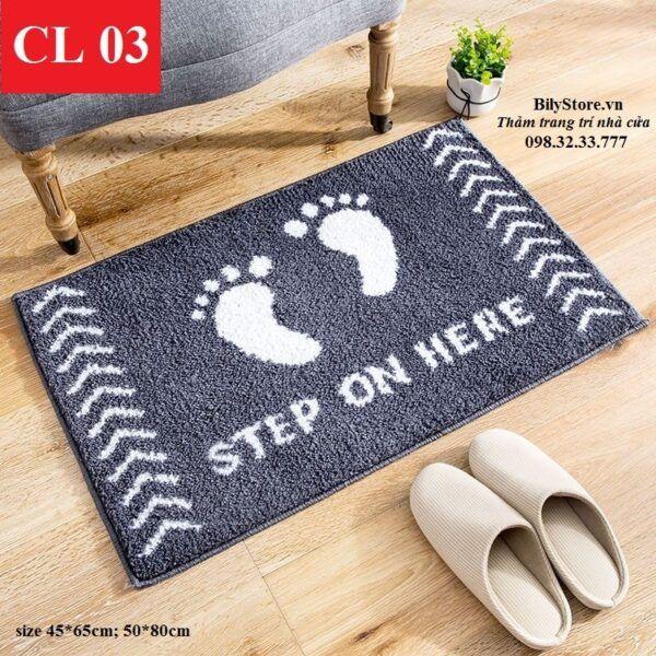Thảm cửa ra vào CL03