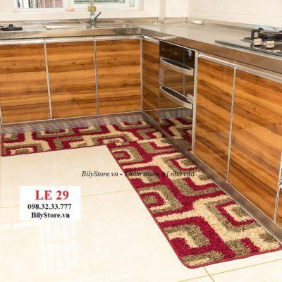 Thảm bếp sợi len cao cấp LE29