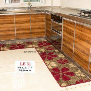 Thảm bếp sợi len cao cấp LE31