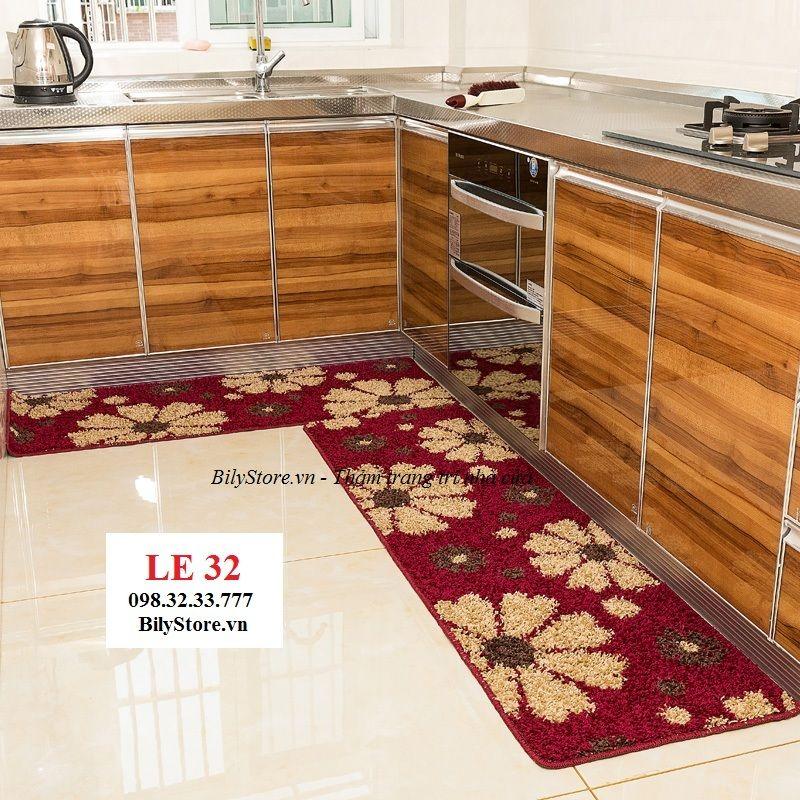 Thảm bếp sợi len cao cấp LE32