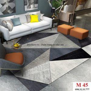 Thảm phòng khách cao cấp phong cách USA M45