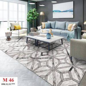 Thảm phòng khách cao cấp phong cách USA M46