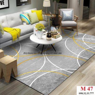 Thảm phòng khách cao cấp phong cách USA M47