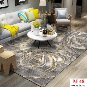 Thảm phòng khách cao cấp phong cách USA M48