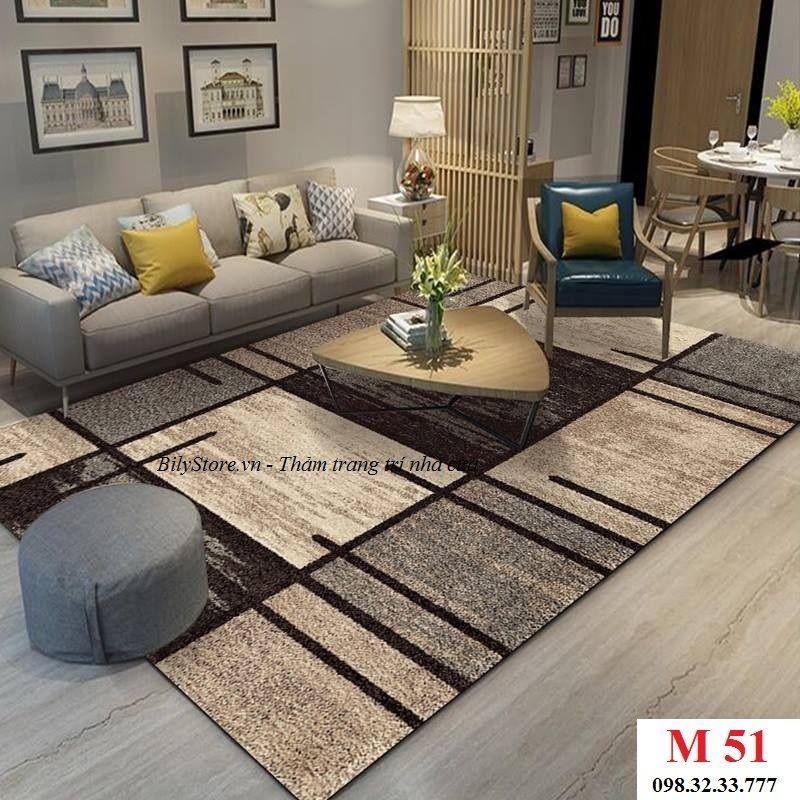 Thảm phòng khách cao cấp phong cách USA M51