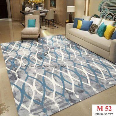 Thảm phòng khách cao cấp phong cách USA M52