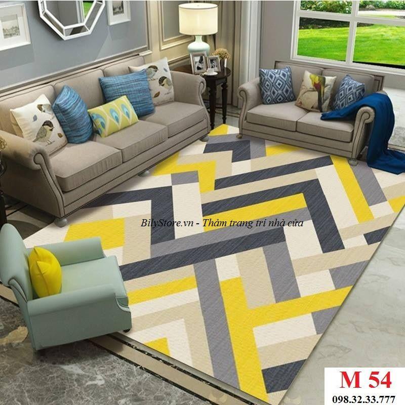 Thảm phòng khách cao cấp phong cách USA M54
