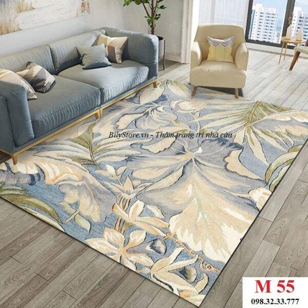 Thảm phòng khách cao cấp phong cách USA M55