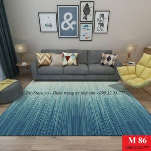 Thảm phòng khách cao cấp phong cách USA M86