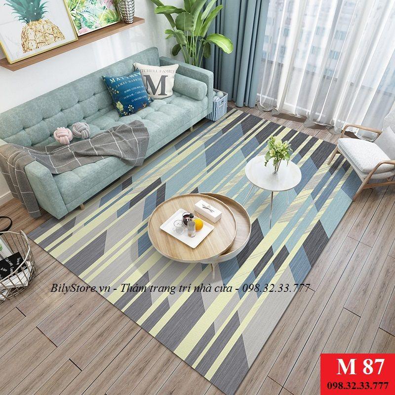 Thảm phòng khách cao cấp phong cách USA M87