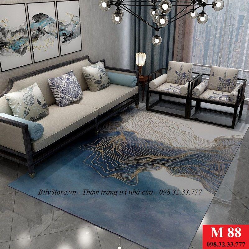 Thảm phòng khách cao cấp phong cách USA M88