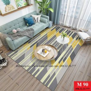 Thảm phòng khách cao cấp phong cách USA M90