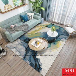 Thảm phòng khách cao cấp phong cách USA M91