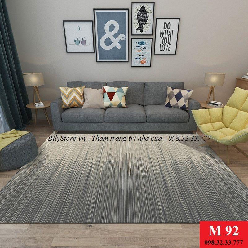 Thảm phòng khách cao cấp phong cách USA M92
