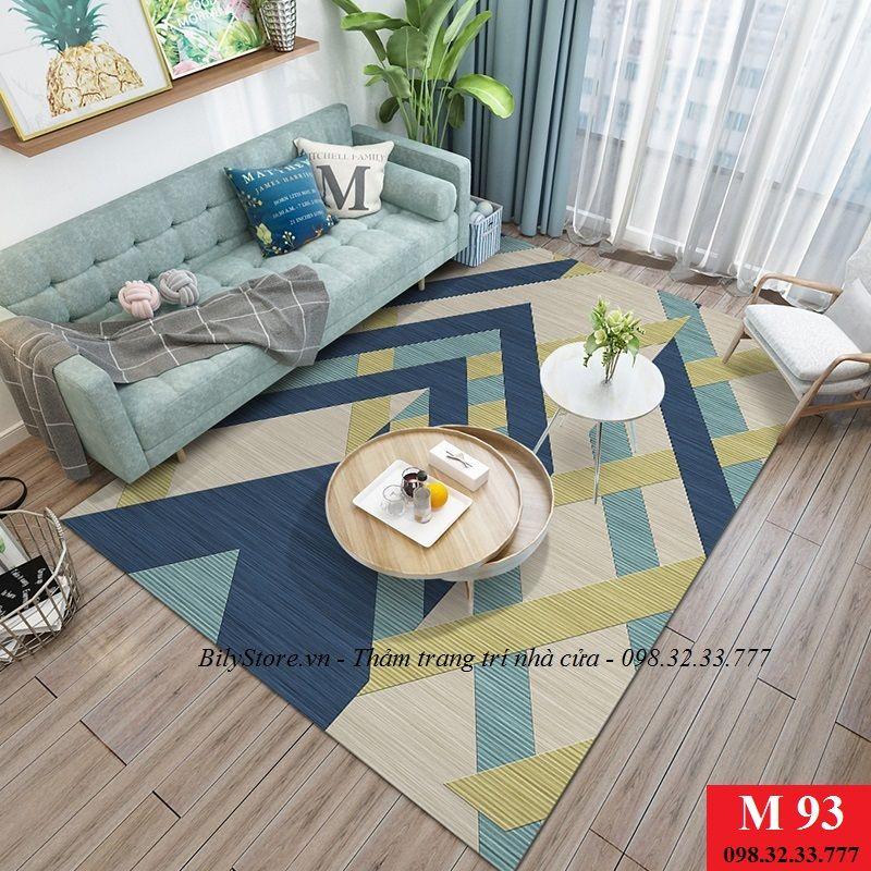 Thảm phòng khách cao cấp phong cách USA M93