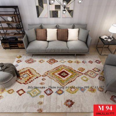 Hiểu rõ hơn về thảm trang trí trong nội thất