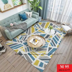 Thảm phòng khách cao cấp phong cách USA M95