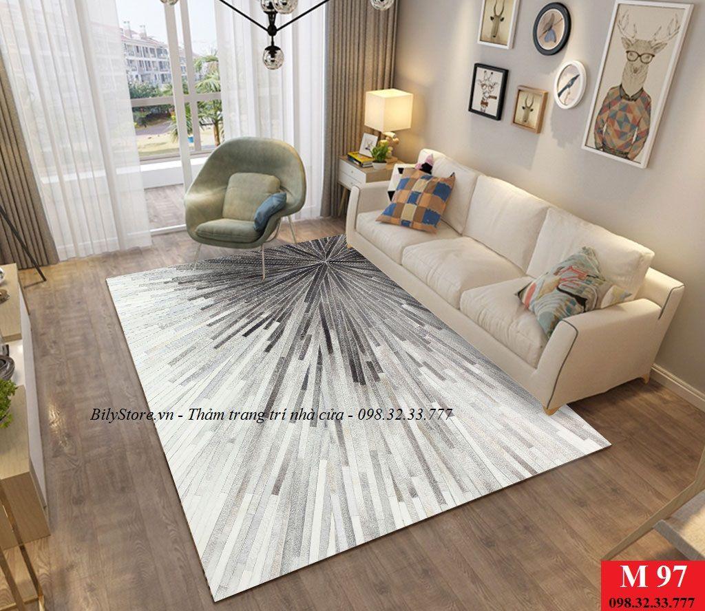Thảm phòng khách cao cấp phong cách USA M97