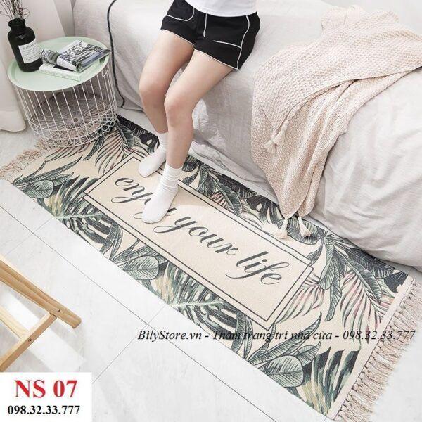 Thảm phòng ngủ cao cấp NS07