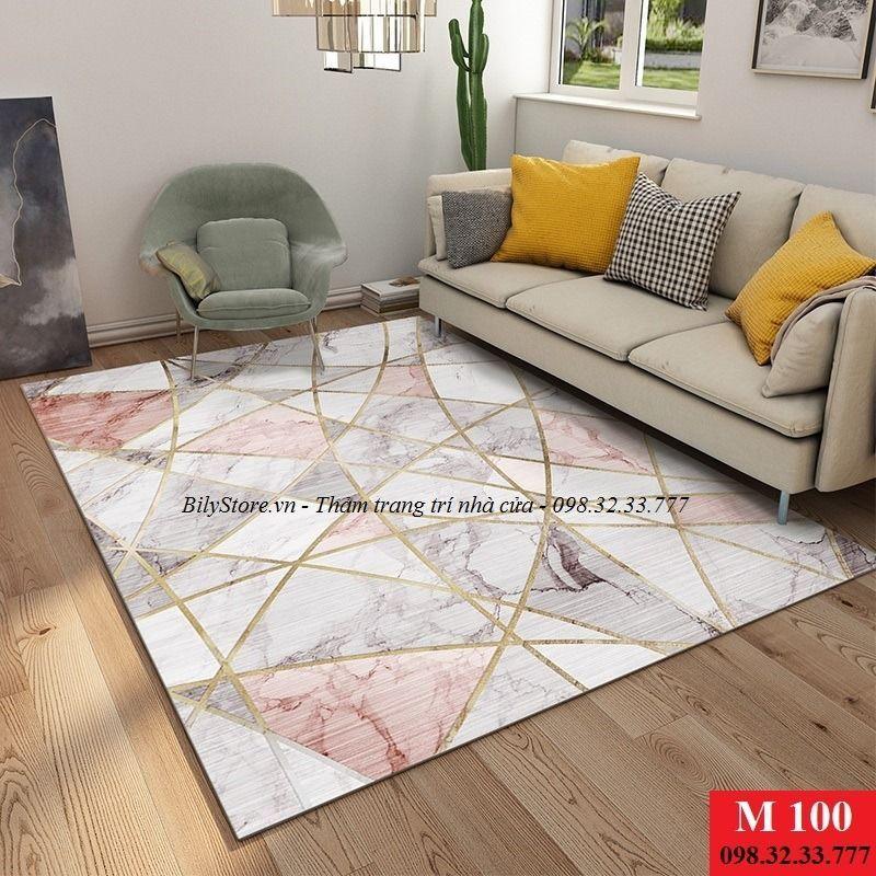 Thảm phòng khách USA M100
