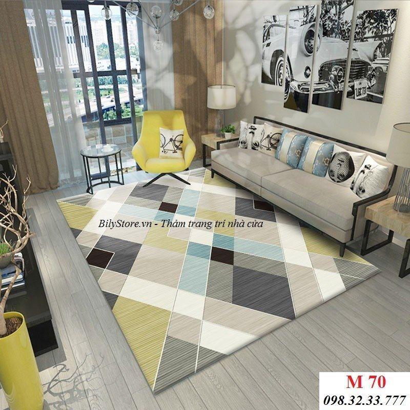 Thảm phòng khách USA M70