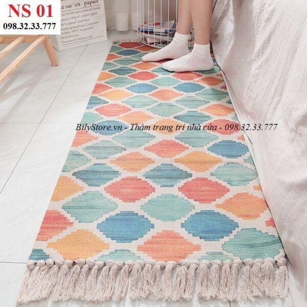 Thảm phòng ngủ cao cấp NS01