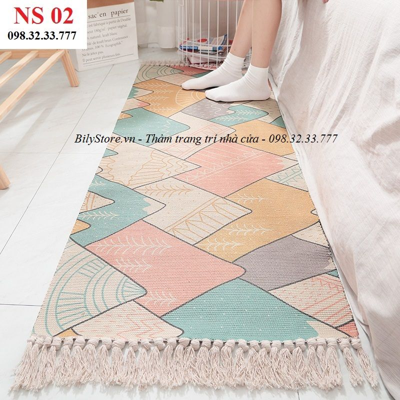 Thảm phòng ngủ cao cấp NS02