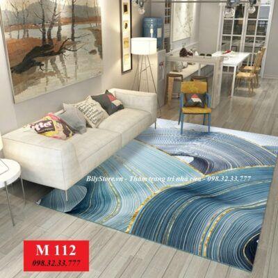 Cách chọn loại thảm trải sàn phòng khách