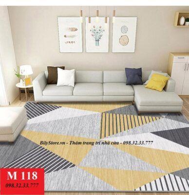 Thảm phòng khách M118