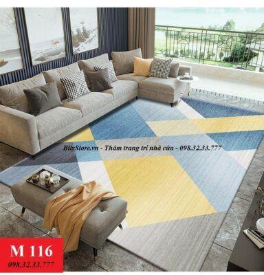 Thảm phòng khách M116