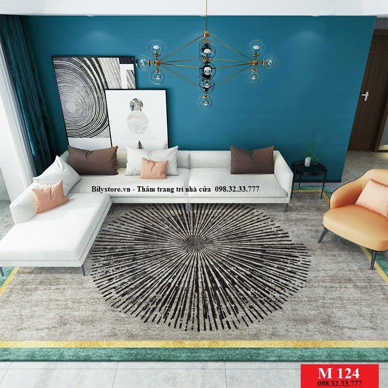 Thảm phòng khách M124