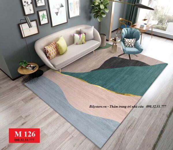 Thảm phòng khách M126