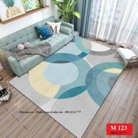 Thảm phòng khách M123