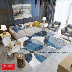 Thảm phòng khách M125